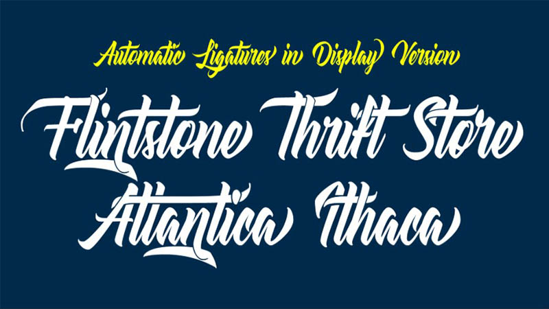 Atlantica Font Family Download