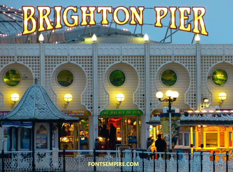 Brighton Pier Font Family Free Download
