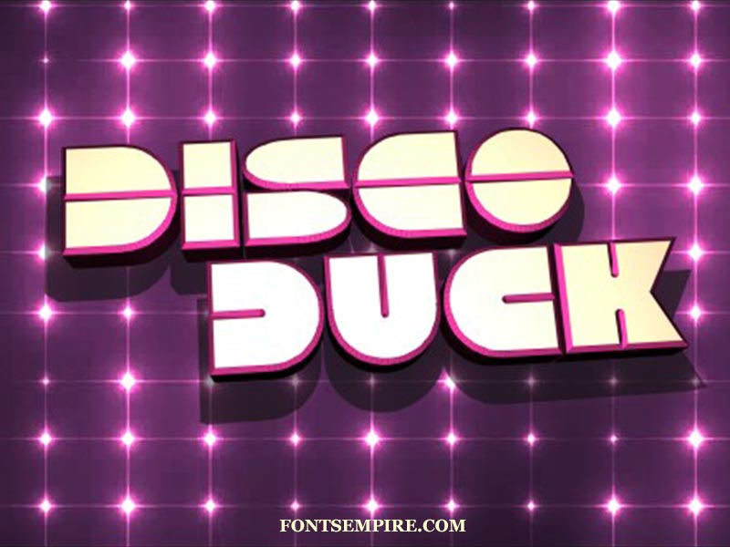 Disco Duck Font Family Free Download