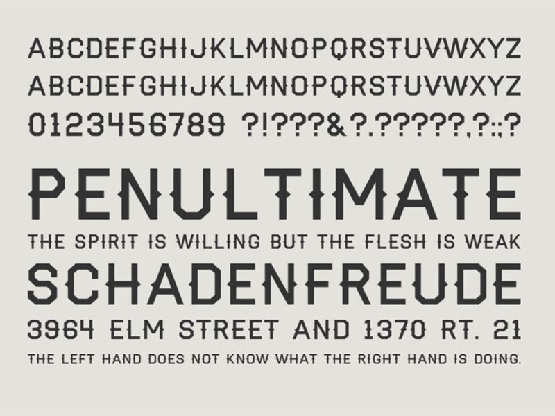 Haymaker Font Family Download