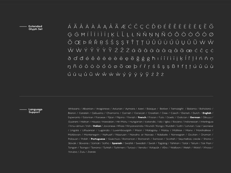 Pangram Font Free Download