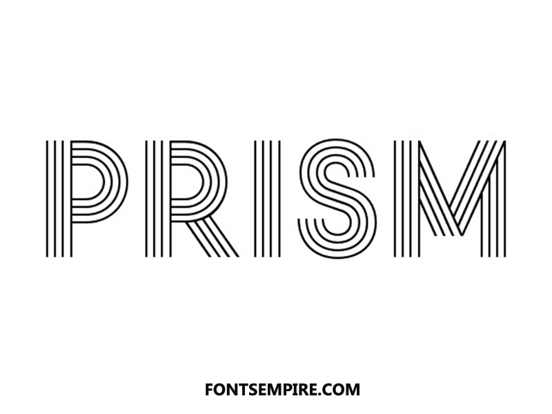 Prism Font Family Free Download