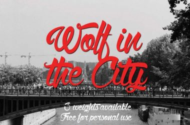 Wolf In The City Font Family Free Download