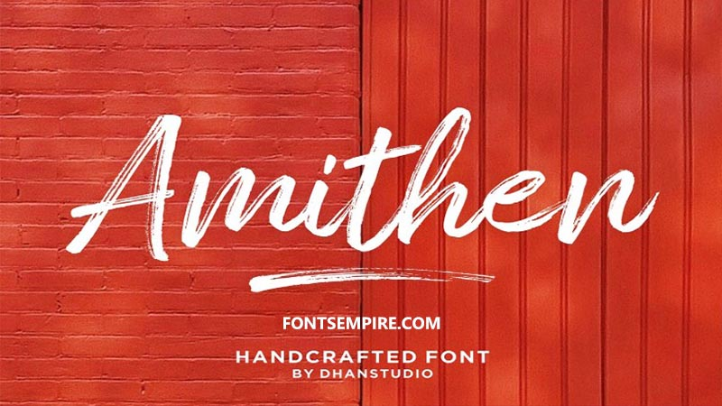 Amithen Font Family Free Download