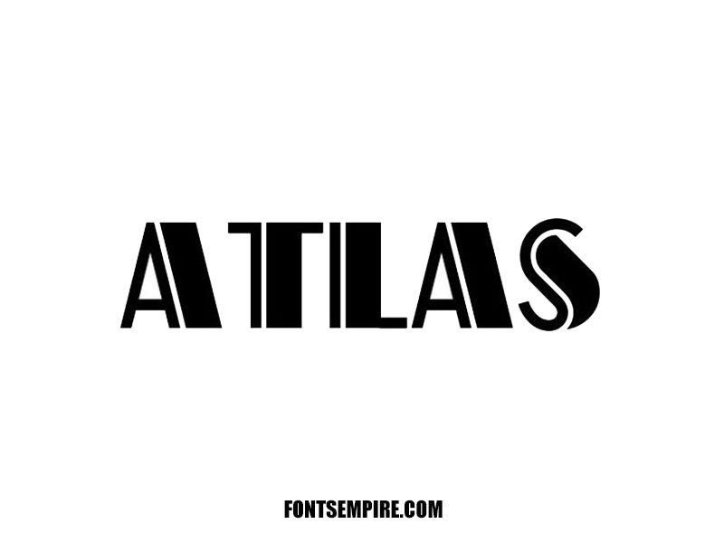 Atlas Font Family Free Download