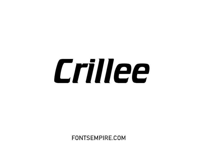 Crille Font Family Free Download