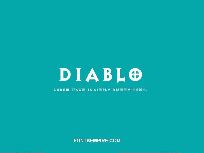 Diablo Font Family Free Download