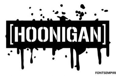 Hoonigan Font Family Free Download