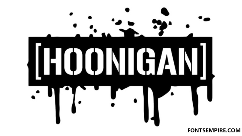 Hoonigan Font Family Free Download