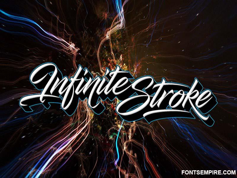 Infinite Stroke Font Family Free Download