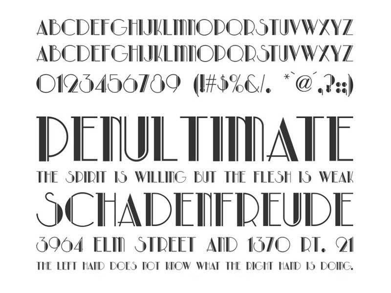 Park Lane Font Family Download