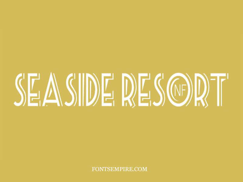 Seaside Resort Font Family Free Download