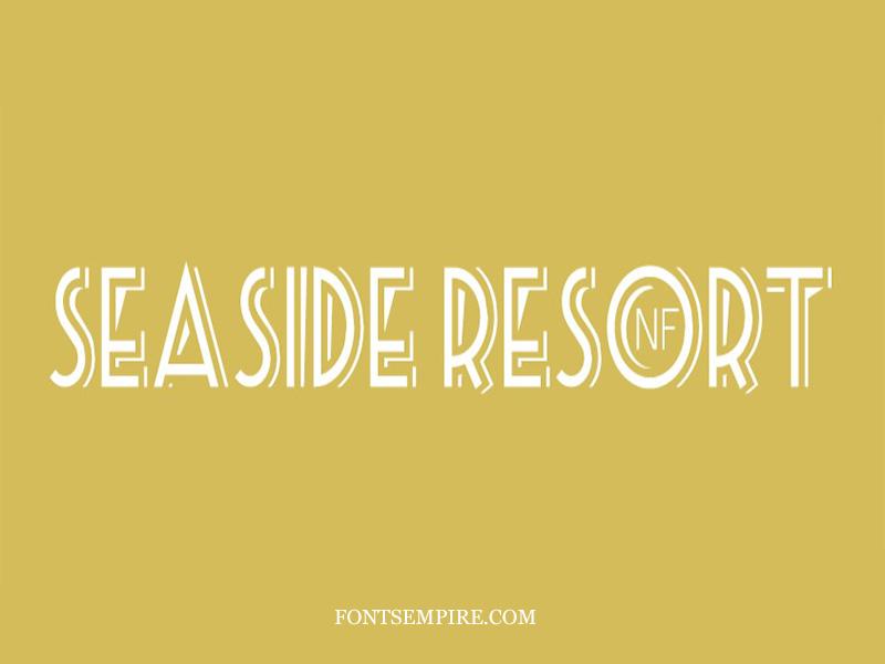 Seaside Resort Font Family Free Download