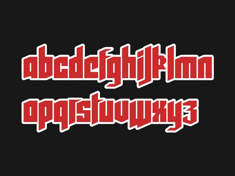 Wolfenstein Font Family Download