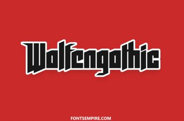Wolfenstein Font Family Free Download