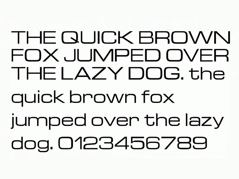 Euro Technic Font Family Download