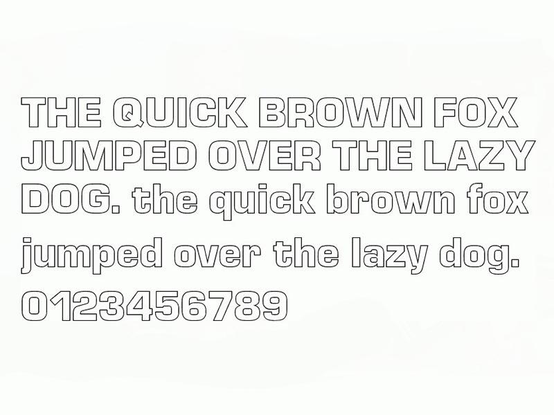 Euro Technic Font Free Download