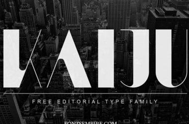 Kaiju Font Family Free Download
