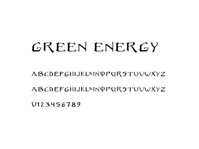 Monster Energy Font Free Download