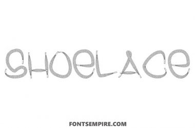 Shoelace Font Family Free Download