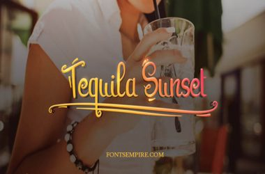 Tequila Sunset Font Family Free Download