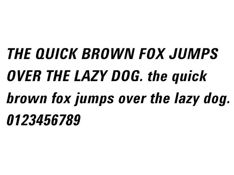 Balenciaga Font Family Download