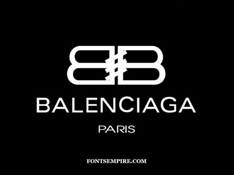Balenciaga Font Family Free Download