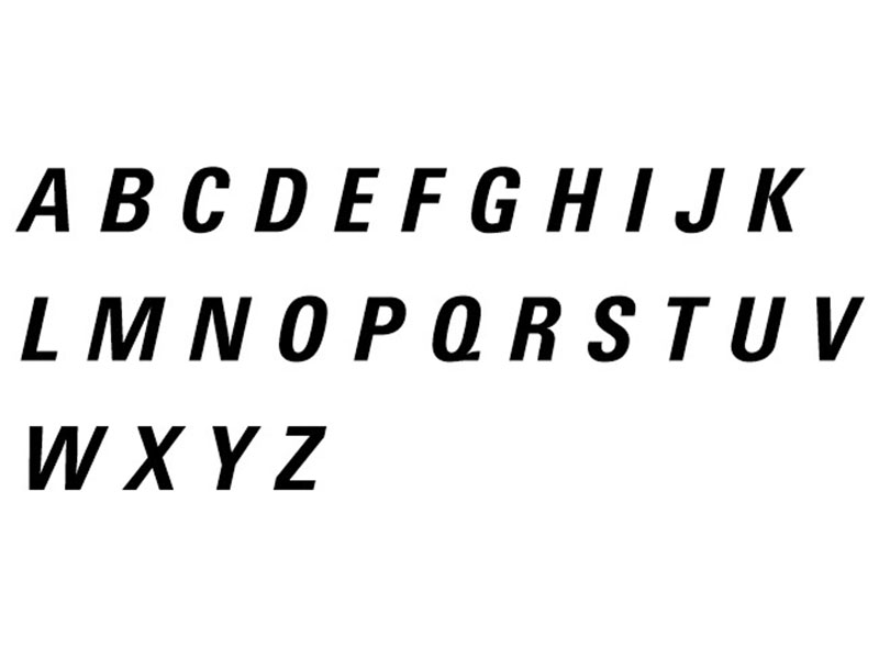 Balenciaga Font Free Download
