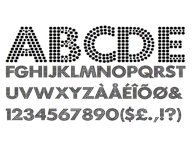 Fortuna Dot Font Family Download