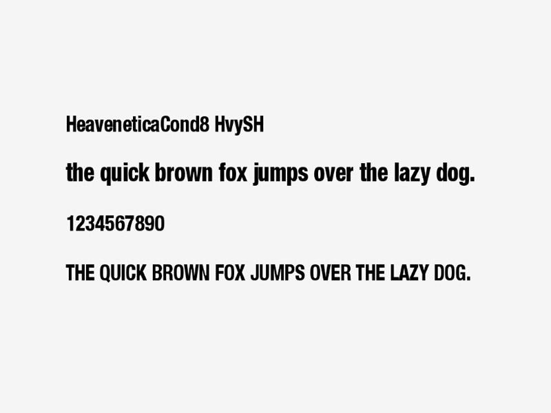 Heavenetica Font Family Download