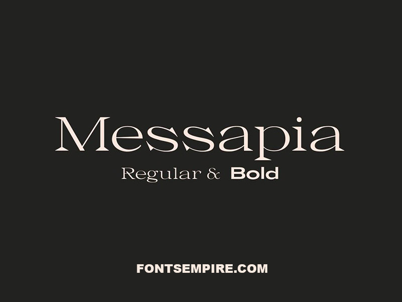 Messapia Font Family Free Download