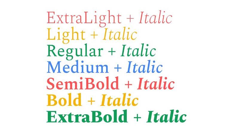 Spectral Font Free Download