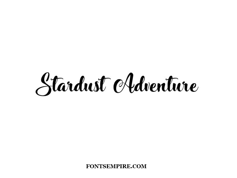 Stardust Adventure Font Family Free Download