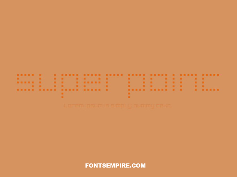 Superpoint Font Family Free Download