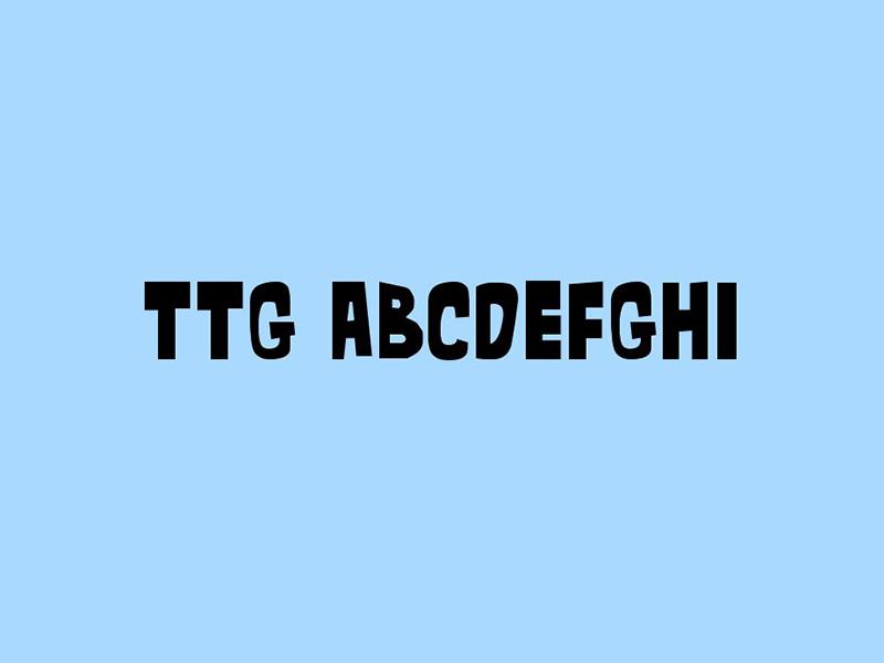 Teen Titans Font Free Download