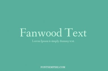 Fanwood Text Font Family Free Download
