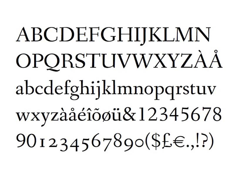 Fanwood Text Font Free Download