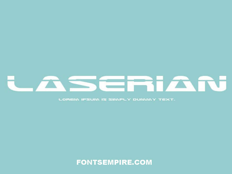 Laserian Font Family Free Download