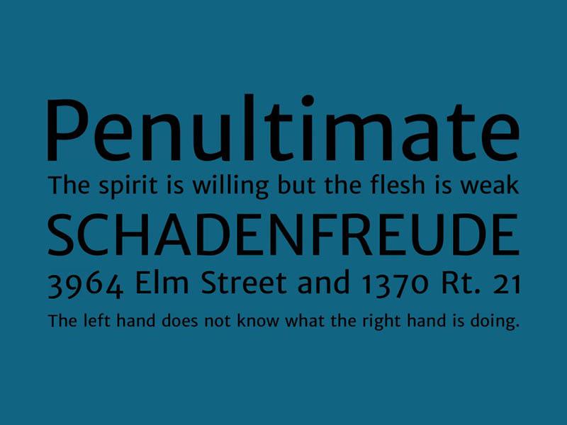 Merriweather Sans Font Free Download