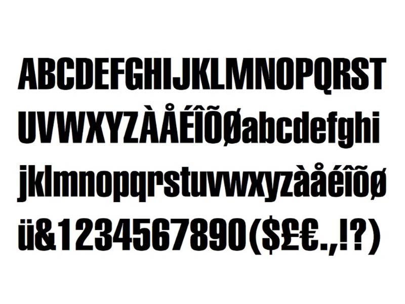 Yamaha Font Family Download