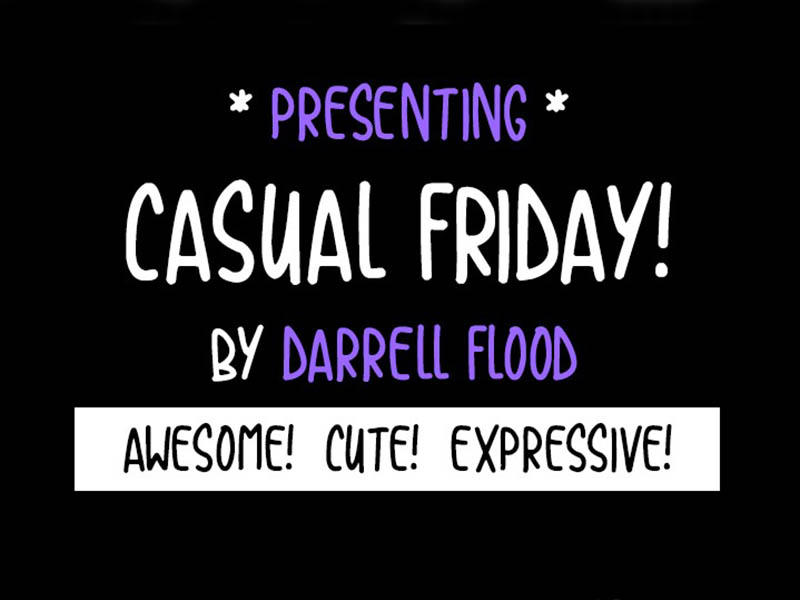 Casual Friday Font Family Download