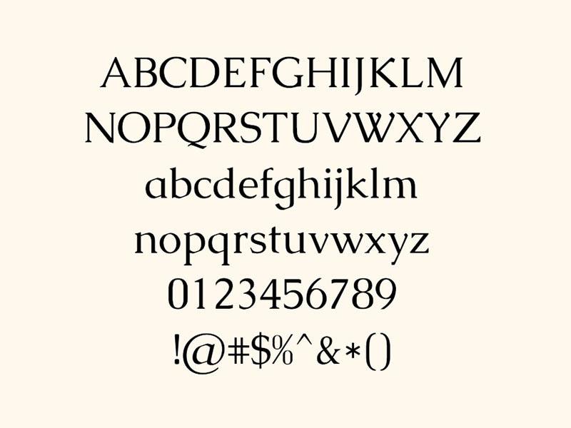 Caudex Font Family Download