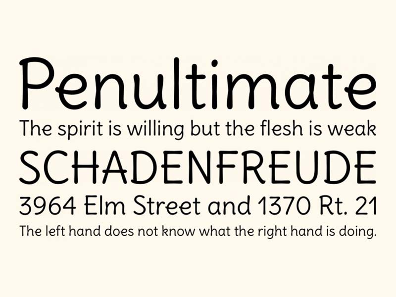 Delius Font Family Download