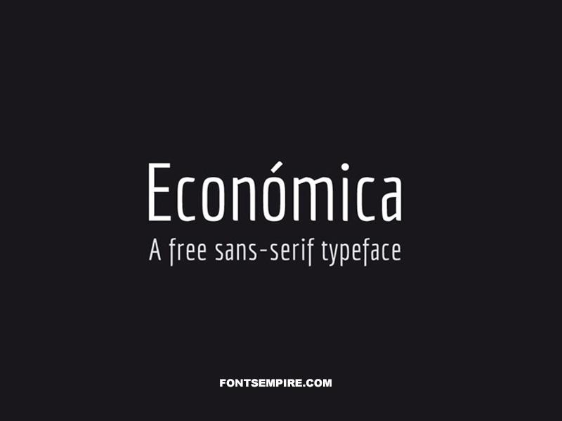 Economica Font Family Free Download