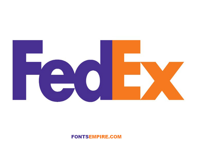 FedEx Font Family Free Download