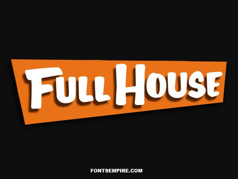 Full House Font Family Free Download