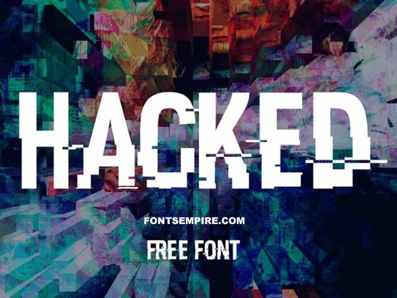 Hacked Font Family Free Download