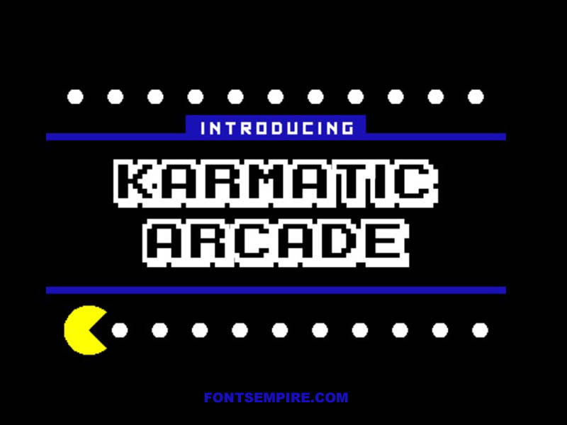 Karmatic Arcade Font Family Free Download