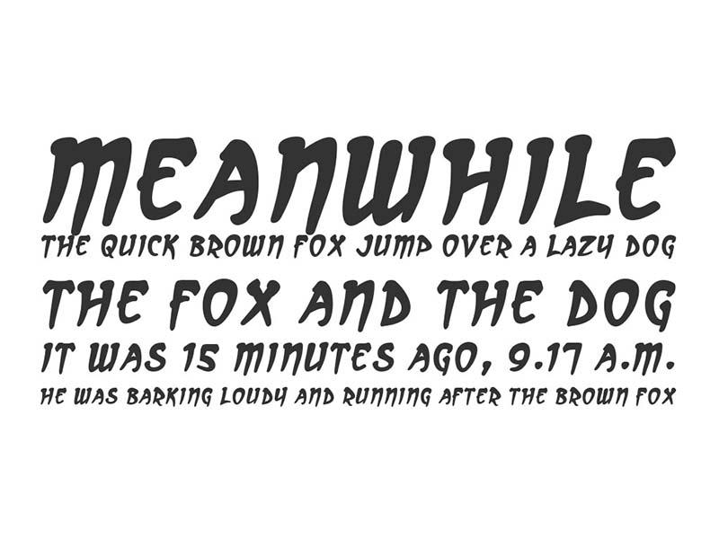 Arcanum Font Free Download