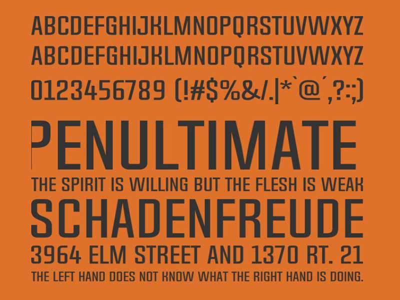 Chosence Font Free Download